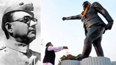 Subhas Chandra Bose 122nd Birth Anniversary: PM Narendra Modi Pays Tribute to Netaji, to Inaugurate Museums at Red Fort in His Memory