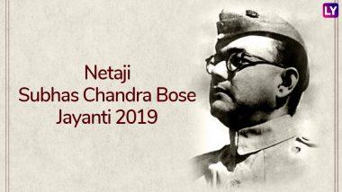 Subhas Chandra Bose Jayanti 2019: Some Interesting Facts About Netaji on His 122nd Birth Anniversary