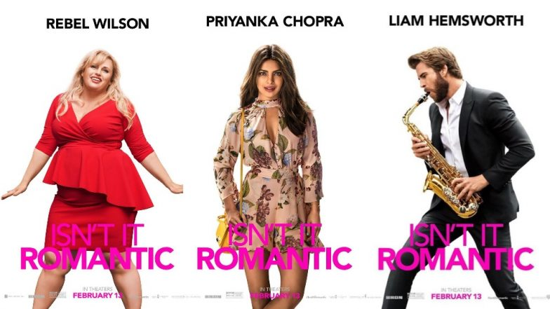 Isn't It Romantic? Posters Are Out! Rebel Wilson, Priyanka Chopra, Liam Hemsworth Look Hot Damn As The New Romantics - View Pics