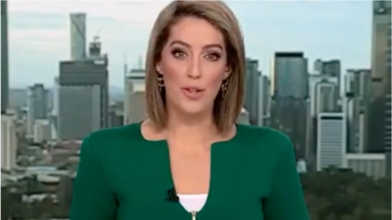 'Penis' Jacket  Worn by Australian News Anchor on Live TV, Mocked by Netizens (See Pic)