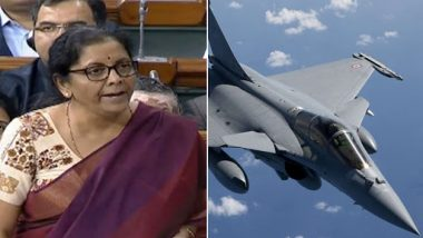 Nirmala Sitharaman Tears Into Congress in Lok Sabha Over Rafale Deal, Says 'UPA Didn't Intend to Buy Aircraft, NDA Negotiated in 14 Months'
