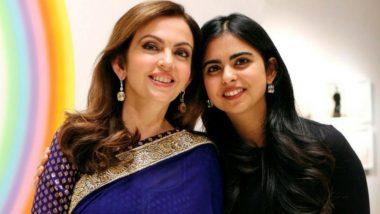 Isha Ambani Says She and Brother Akash Are Twins Born Through IVF 7 Years After Parents Nita and Mukesh Ambani Marriage