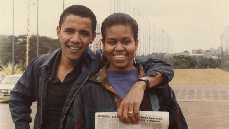 Barack Obama Shares Throwback Picture With Michelle Obama on Her Birthday And The Two Are Giving Us Couple Goals! See Pic