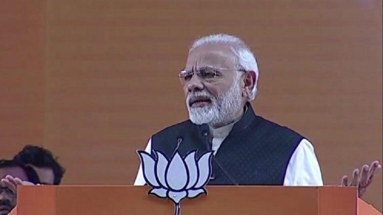 PM Modi Warns Nation Against 'Gathbandhan Rule', Says Karnataka CM Being Treated as 'Clerk' by Congress