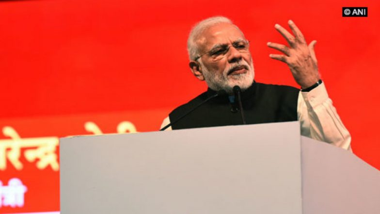 Narendra Modi Train Guns at Congress in Tamil Nadu, Rakes Up Issues of Insulting Defence Personnel And Farmers
