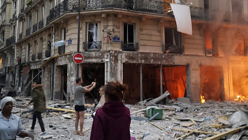 Paris Explosion: Massive Blast in Bakery Shop Rocks Street in the Heart of French Capital