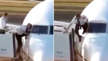 Pilot Enters Plane Through Cockpit Window, Old Video Goes Viral Leaving Internet Confused
