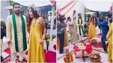 Prateik Babbar-Sanya Sagar's Haldi and Mehendi Ceremony Pictures Are All About Laughter and Colours