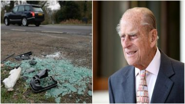 Queen Elizabeth's Husband Prince Philip Escapes Unhurt in Major Car Crash