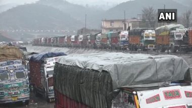 Jammu and Kashmir: National Highway Reopened for Vehicles Stranded Due to Snowfall