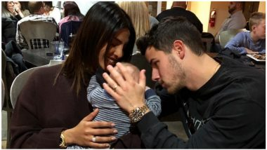 Priyanka Chopra-Nick Jonas Share a Cute Pic With a Baby and They Look Totally Ready To be Parents!