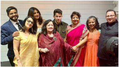 Priyanka Chopra-Nick Jonas Wedding Reception in the US Was All About Music and Fam-Jam (View Pics and Video)