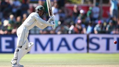 Quinton De Kock Musters Fifty in His Maiden Test Innings on Indian Soil During Day 3 of India vs South Africa 1st Test