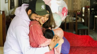 Ritika-Rohit Sharma's Daughter's Name is 'Samaira'! Cricketer Shares an Adorable Family Picture on Twitter