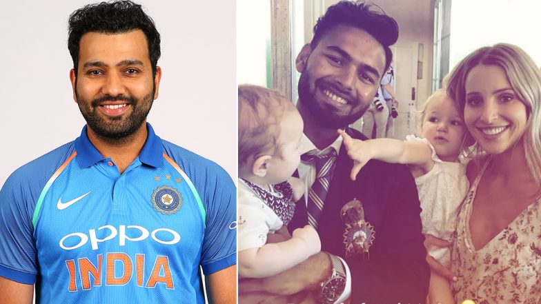 Rohit Sharma and Tim Paine's Wife Bonnie Seek Help From Rishabh Pant for Babysitting Duties