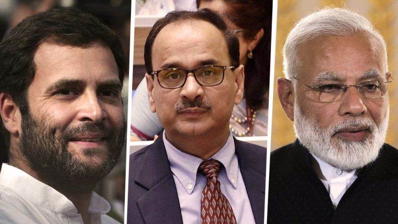 'PM Narendra Modi is Prisoner of His Own Lies', Tweets Rahul Gandhi After Removal of CBI Chief Alok Verma