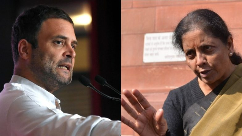 Rafale Deal Row: Rahul Gandhi, Nirmala Sitharaman Lock Horns on HAL Contracts