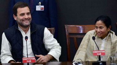 Rahul Gandhi Writes Letter Extending Support to TMC Rally, Mamata Banerjee Says 'It Will Mark the Death Knell for BJP'