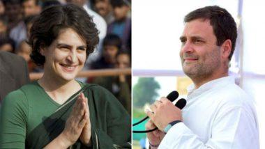 Priyanka Gandhi's Entry in Active Politics: 'BJP is Scared', Says Congress President Rahul Gandhi in Amethi