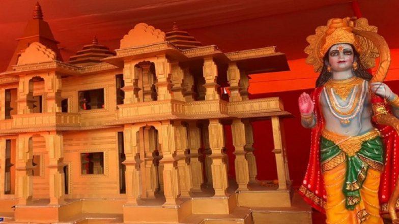 Kumbh Mela 2019: Replica of Ram Temple to Be Built in Ayodhya, Draws Crowd in Prayagraj