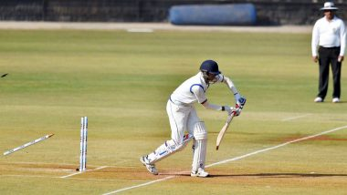 Live Cricket Streaming of Ranji Trophy 2019-20 on Hotstar and Star Sports: Check Live Cricket Score, Watch Free Telecast of India's Domestic Tournament on TV and Online