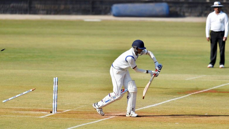 Madhya Pradesh Collapses from 35/3 to 35 All Out in 23 Balls Without Adding a Run on Scoreboard, Knocked Out of Ranji Trophy 2018-19