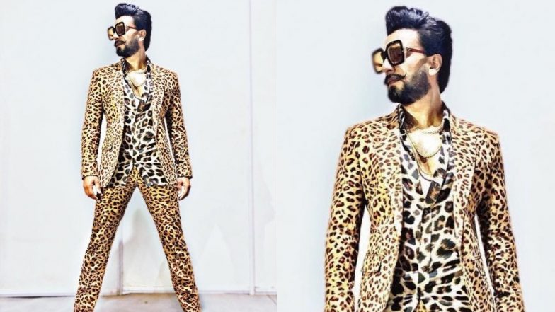 Ranveer Singh's Cheetah-Print Suit Became A Roaring Affair At The Umang 2019 Red Carpet - View Pics