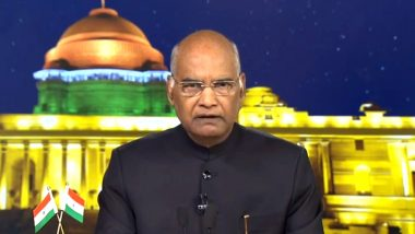 Holi 2019 Wishes: President Ram Nath Kovind Greets Citizens on Eve of The Festival of Colours