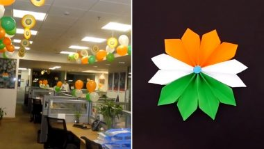 Republic Day 2019 Office Bay Decoration Ideas: Quick and Easy Ideas to Make Your Workspace Ready For Celebration With Tricolour, Watch Videos