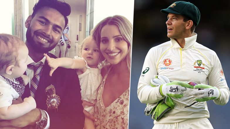 Tim Paine vs Rishabh Pant: 'I Wish I Played Like Him When I Was His Age,' Says Australian Captain Before IND vs AUS Final Test 2019
