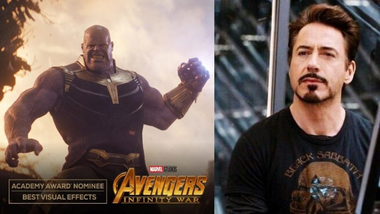 Robert Downey Jr Is Proud To Be An Avenger As Avengers: Infinity War Gets An Oscar Nod - Read Tweet