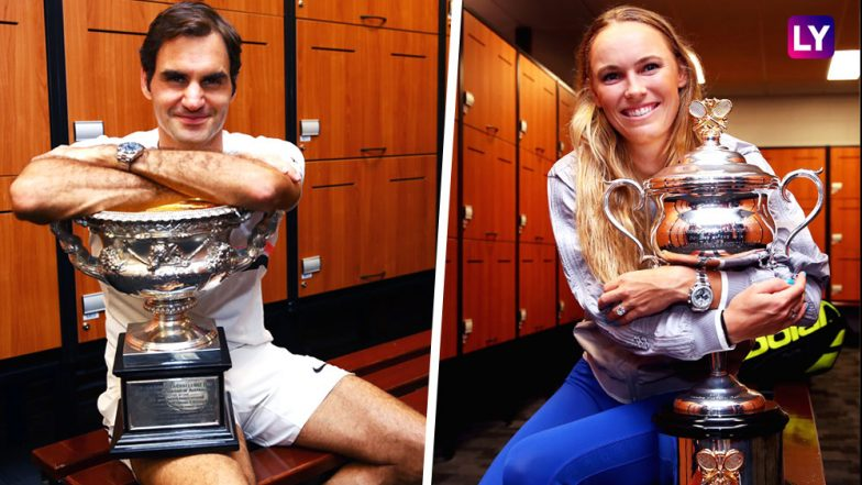 Federer, Nadal Stay on Track as Sharapova Sets Up Wozniacki Showdown