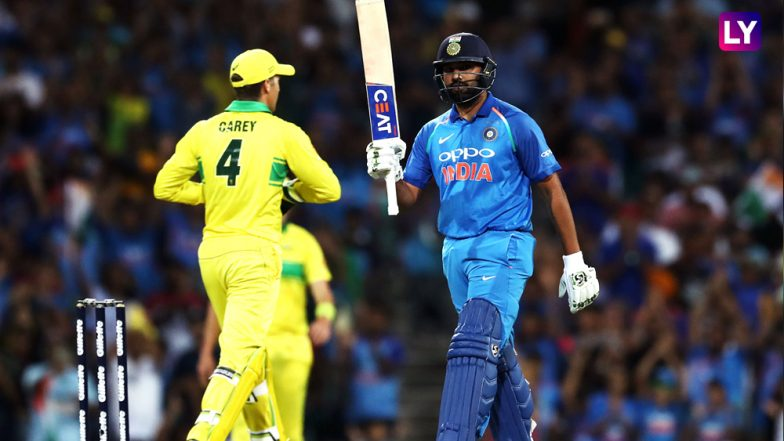 Australia defeat India in first ODI despite Rohit Sharma century