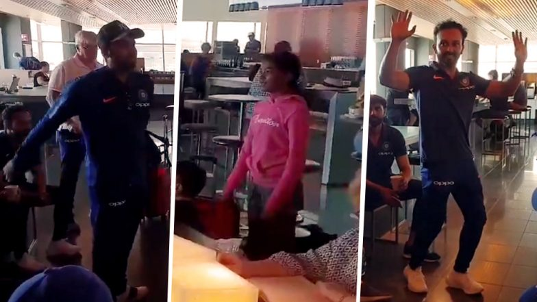 Kedar Jadhav Impresses, Rohit Sharma Tries Doing Floss Dance at Sydney Airport Ahead of IND vs AUS 2nd ODI: Watch Video