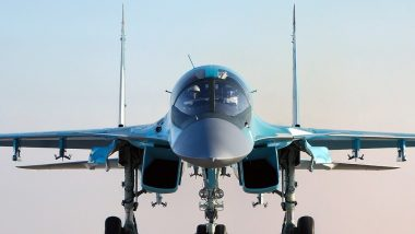 Russia: Two Sukhoi Su-34 Fighter Jets Collide With Each Other Mid-Air in Far East Region
