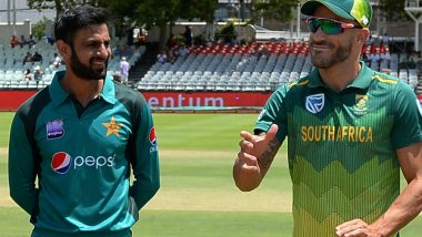 Live Cricket Streaming of Pakistan vs South Africa ODI Series on SonyLIV, PTV & Ten Sports: Check Live Cricket Score, Watch Free Telecast of PAK vs SA 5th ODI 2019 on TV & Online