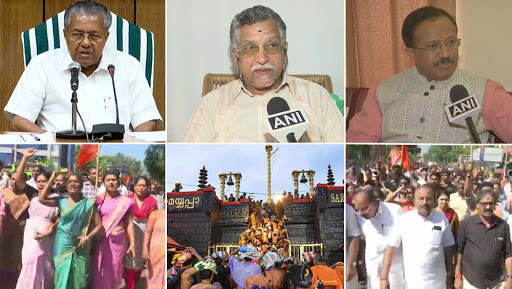 Sabarimala Temple Row Rages in Kerala After 2 Women Entered Premises; Violent Protests, 'Black Day' Witnessed In State, CM Blames RSS