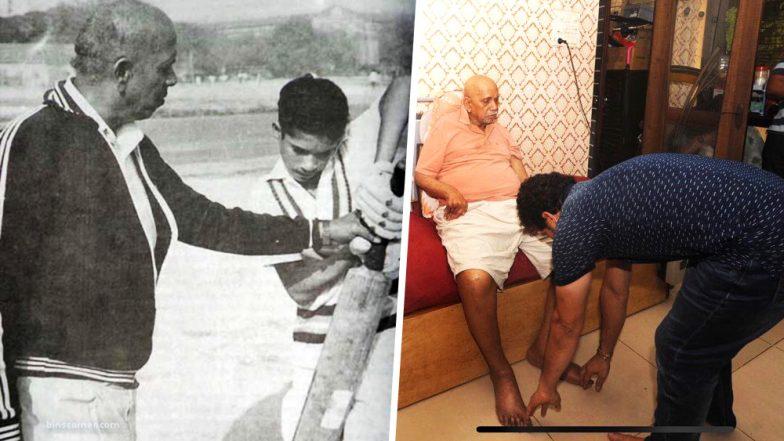 Sachin Tendulkar Says, 'Cricket in Heaven Will Be Enriched,' Condoles Ramakant Achrekar Sir's Demise
