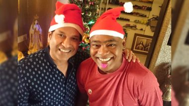 Sachin Tendulkar Wishes Vinod Kambli on 47th Birthday: See Cute Pic Shared by Master Blaster on Twitter!