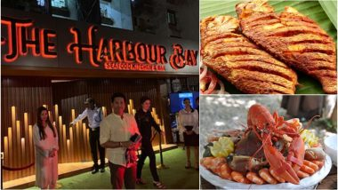 'Seafood Lover' Sachin Tendulkar Reviews Mumbai's The Harbour Bay and Has This to Say!