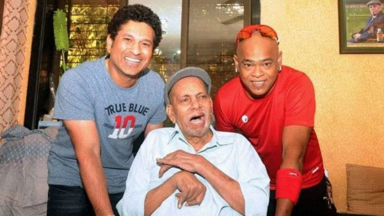 Sachin Tendulkar's Coach Ramakant Achrekar Dies at 87: Recalling Famous Incidents From the Master Blaster and His Coach's Journey