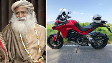 Sadhguru Jaggi Vasudev is Now a Proud Owner of Ducati Multistrada 1260 Pikes Peak Edition Worth Rs 21.42 Lakh, See Pictures