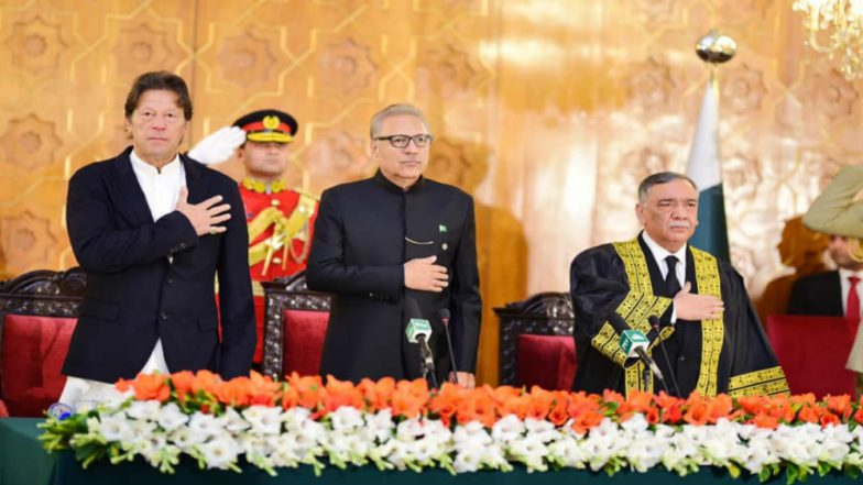 Asif Saeed Khan Khosa Sworn in as New Chief Justice of Pakistan
