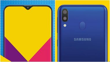 Samsung Galaxy M10, Galaxy M20 Likely To Be Priced From Rs 7990 & Rs 10,990; India Launch on January 28, 2019