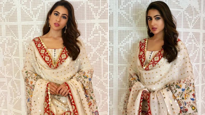 Sara Ali Khan Is So Elegant In This Desi Avatar That Makes Her Sexier Than Ever Before! View Pics
