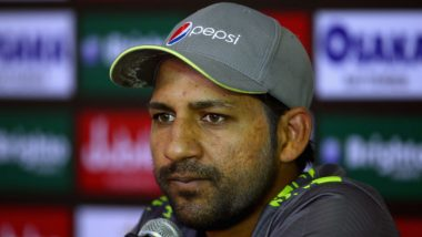 Sarfraz Ahmed Handed Four-Match Suspension for Breach of Anti-Racism Code, Shoaib Malik Named As Stand-In Captain