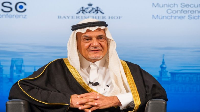 Senior Saudi Prince Criticises Trump's Syria Pullout Decision
