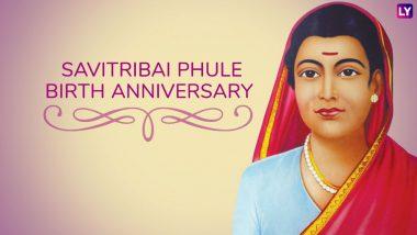 Savitribai Phule Jayanti 2019: Know The Contributions of India's First Lady Teacher