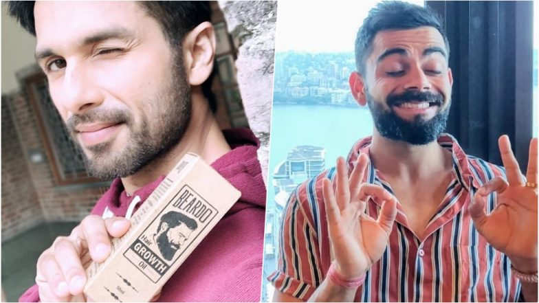 Shahid Kapoor Promotes Beard Oil, And We're Tempted To Send Him Virat Kohli's Blissed Out Pic!