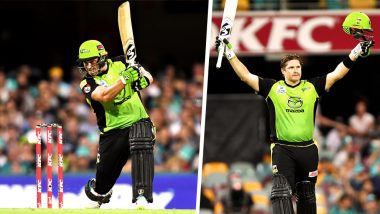 Shane Watson Hits the First Century of BBL 8! Sydney Thunder's Captain Delivers #10YearChallenge With Nostalgic Strokeplay Against Brisbane Heat: Watch Video